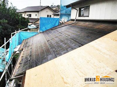 【瓦屋根】 屋根葺き替え 事例