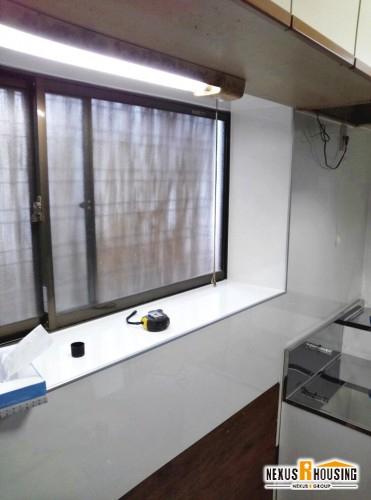 新キッチン設置