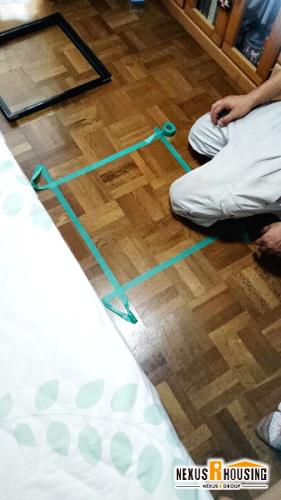 床下点検口作成 横浜市 鶴見区,神奈川区,西区,中区,南区エリア I様邸