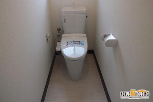 リフォーム後のトイレ