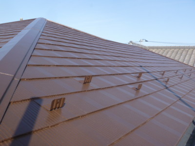 【スレート屋根】屋根塗装工事 事例