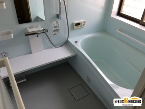 【バリアフリー化】浴室リフォーム 事例