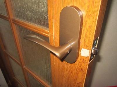 【扉が開かない!】ドアノブ交換 事例