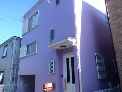 【施工例】外壁塗装リフォーム③ 鎌倉市A様邸