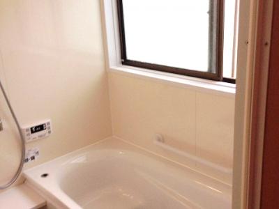 浴室リフォーム+給湯器交換後半 仙台市 宮城野区,若林区,青葉区,泉区,太白区エリア I様邸