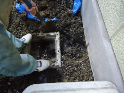 コンクリート排水マス交換工事 千葉県 いすみ市,大多喜町,睦沢町,エリア M様邸
