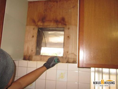 【レンジフード】キッチン換気扇交換 事例