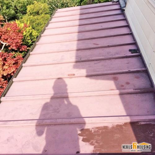 現状のトタン屋根
