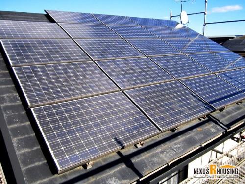 太陽光搭載屋根