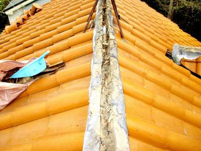 屋根の棟補修工事 栃木県 さくら市,高根沢町,那珂川町,那須烏山市エリア S様邸
