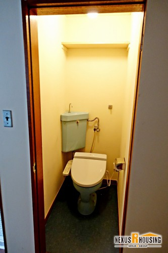 リノベーション前のトイレ