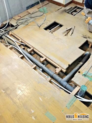 排水管敷設