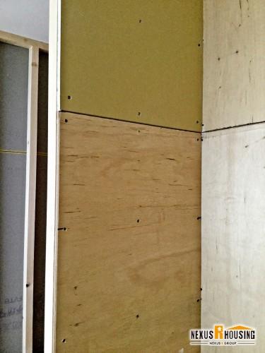 下地の木材施工