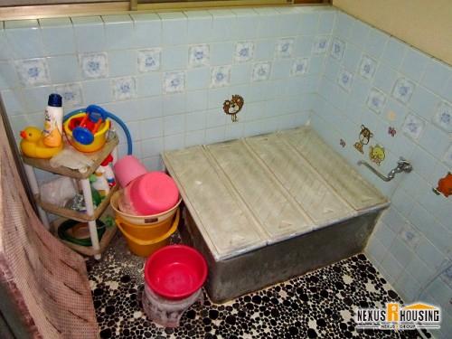 在来工法浴室・浴槽
