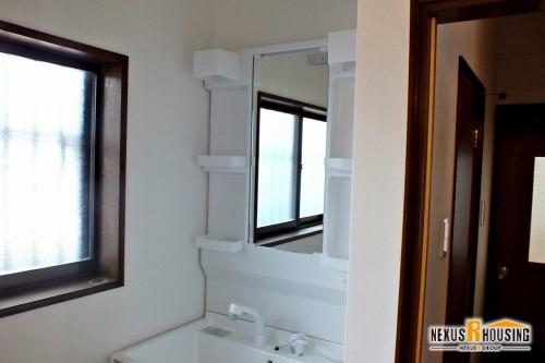 リフォーム後の洋洗面室