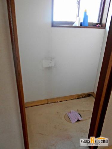 撤去後のトイレ