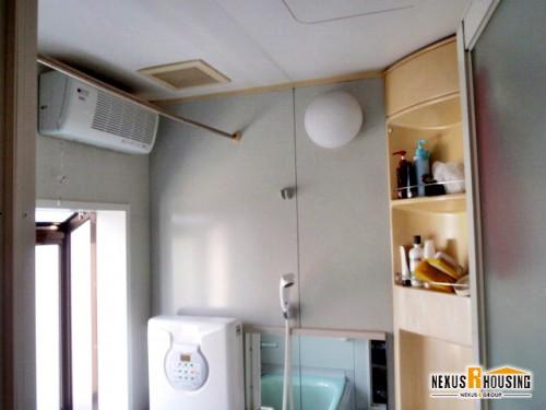 A様邸のシステムバス