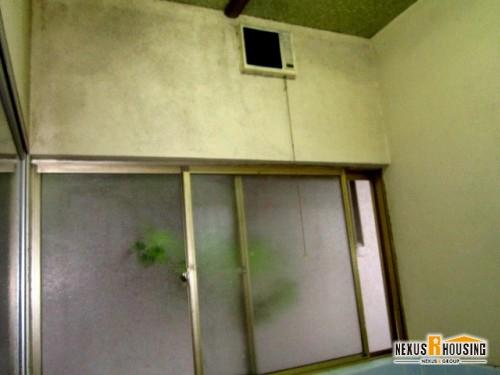 在来工法浴室・窓