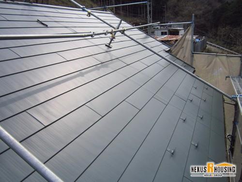 新しい屋根の完成