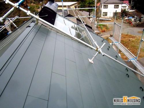 太陽熱温水器設置