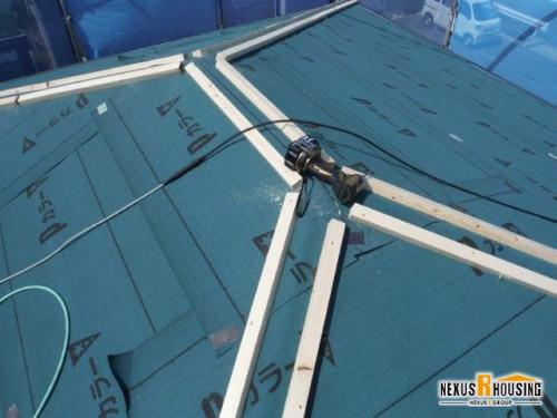 屋根重ね葺きリフォーム 浜松市 中区,東区,西区,南区,浜北区,エリア K様邸