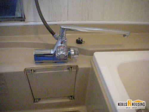 浴室の既存蛇口