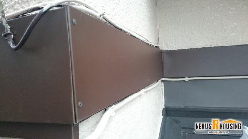 ガルバリウム鋼板取り付け