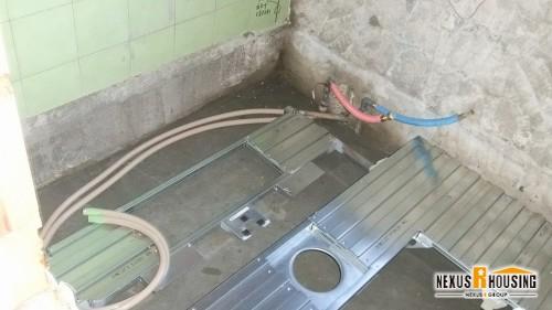 給水管・給湯管を設置